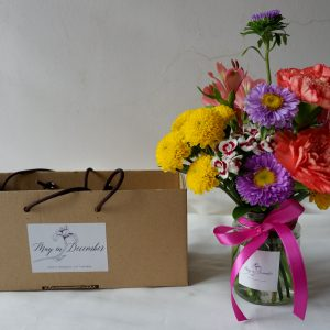 Floral Jar Arrangement